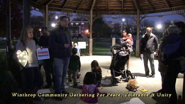 A Community Gathering For Peace, November 13, 2016