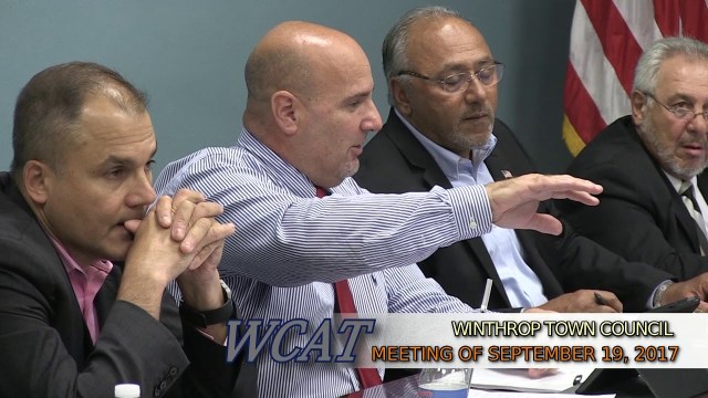 Winthrop Town Council Meeting of September 19, 2017