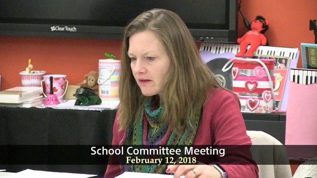 Winthrop School Committee February 12th, 2018