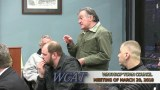 Winthrop Town Council Meeting of March 20, 2018