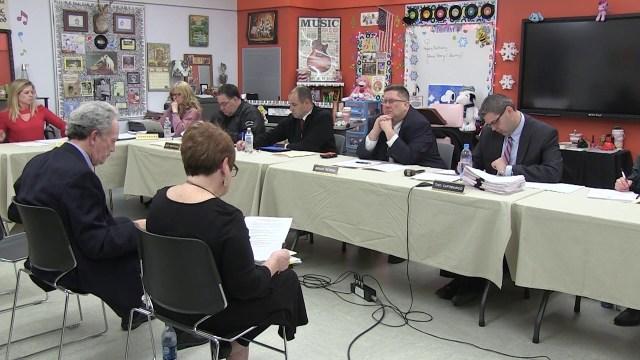 Winthrop School Committee Meeting of January 22, 2018