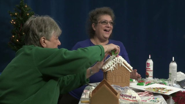 Brenda and Dawn's Gingerbread House