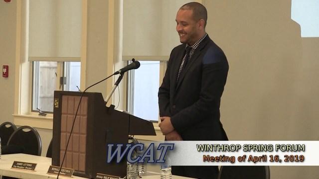 Winthrop Budget Forum, Spring 2019