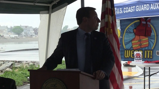 Winthrop Boat Launch Ribbon Cutting, June 18, 2019