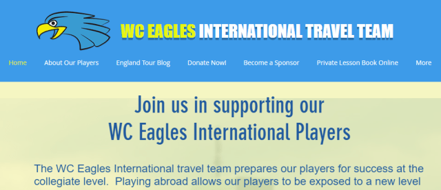 WC Eagles International Travel Team