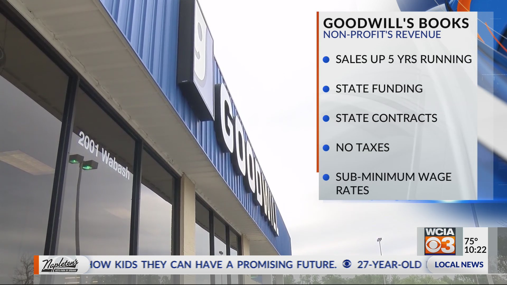 Goodwill pulls paychecks from disabled workers | WCIA com