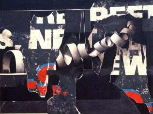 "BUFFALO BILLBOARD #14 M/M ON PANEL 32""X42"" 1999"