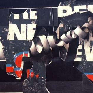"BUFFALO BILLBOARD #14 M/M ON PANEL 32""X42"" 1999"