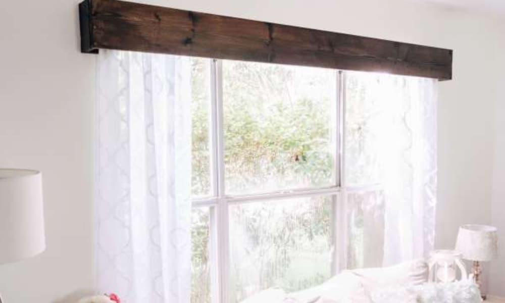 17 homemade window valance plans you