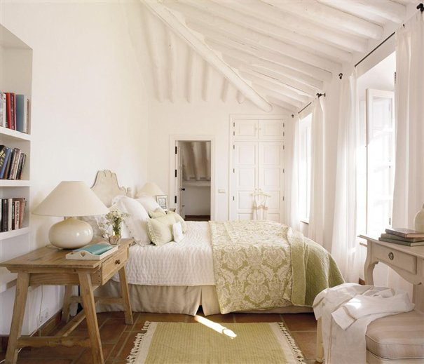 dormitorio_invitados_605x519 httpinspiracionline.blogspot.com201203country-house-in-malaga.html