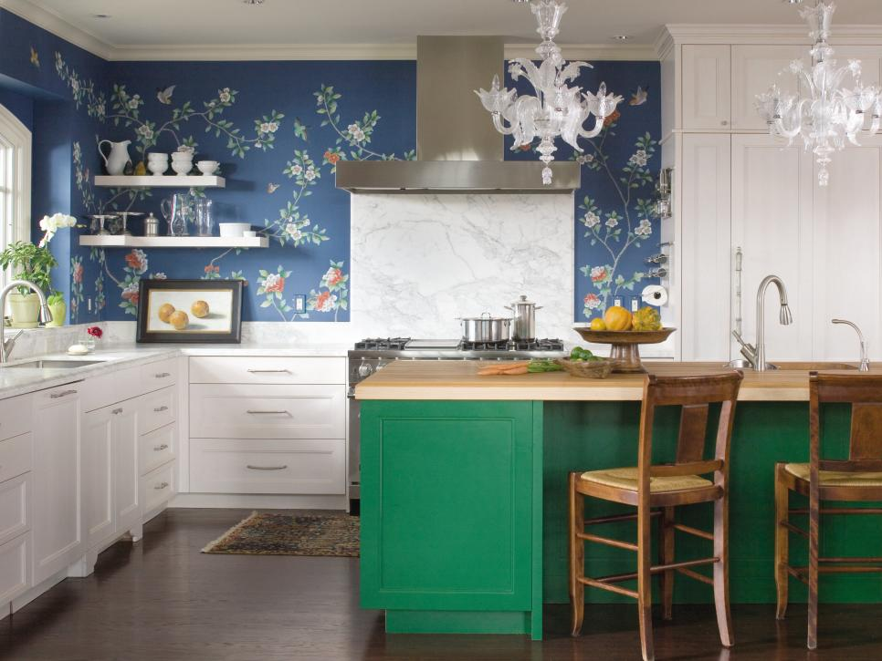 3- Emerald Green Island - Hgtv