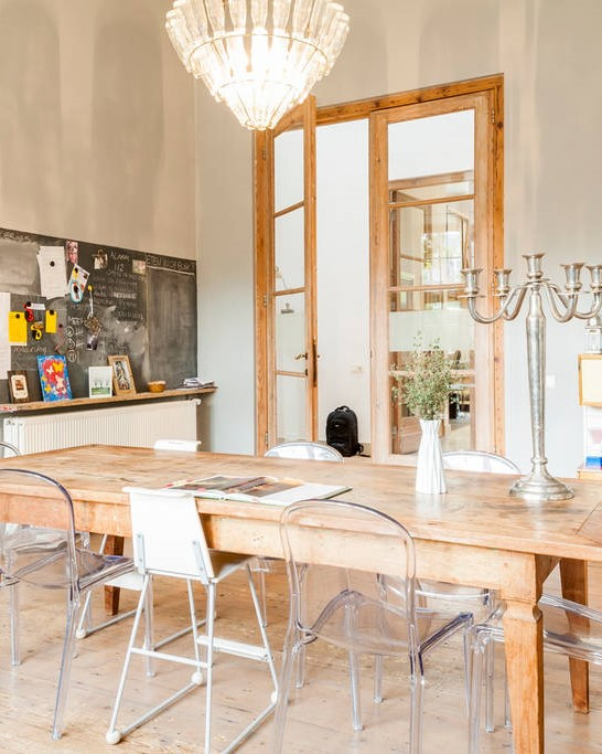 Dining Table Converted School House