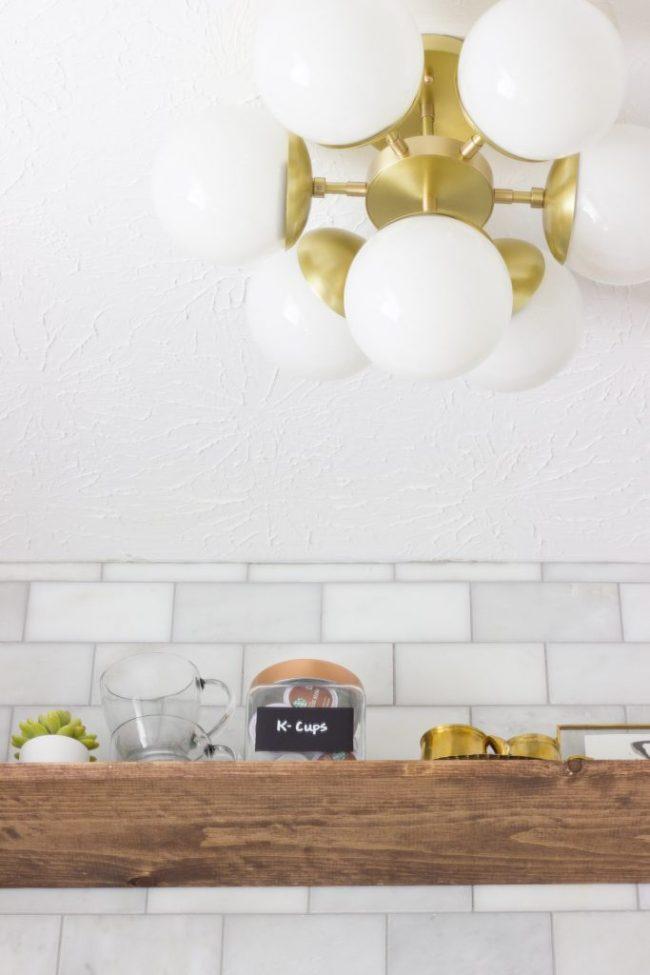 mid-century-light-fixture-one-room-challange-coffee-bar-erin-spain