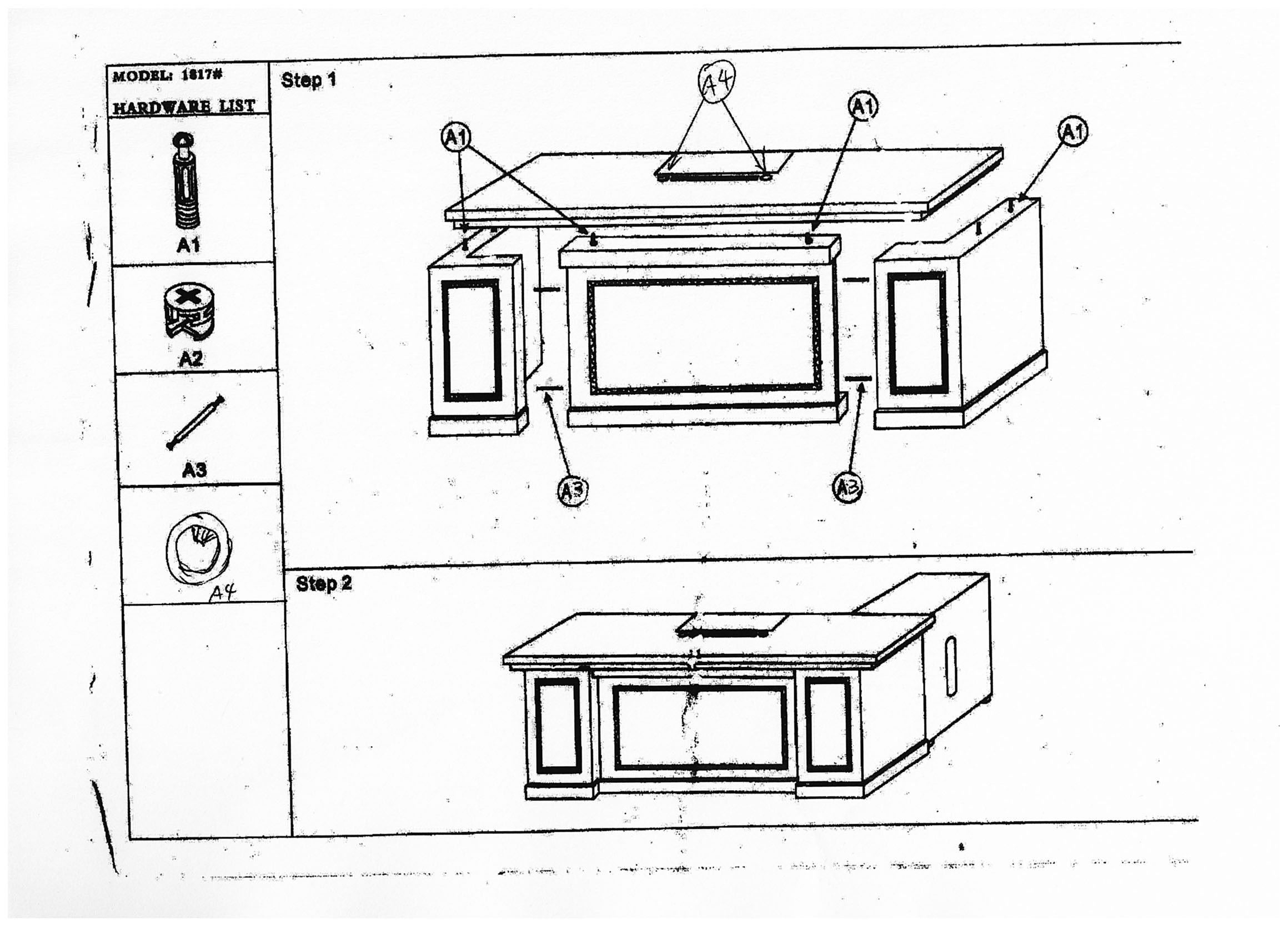 Installation Diagram Office Furniture Melbourne