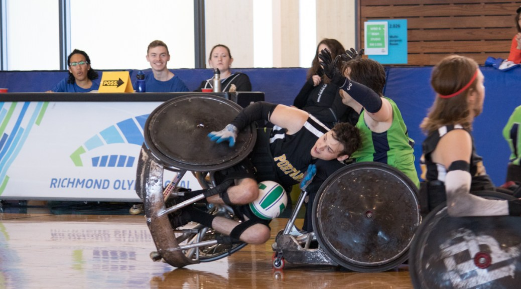 last day at the vancouver invitational wheelchair rugby at the