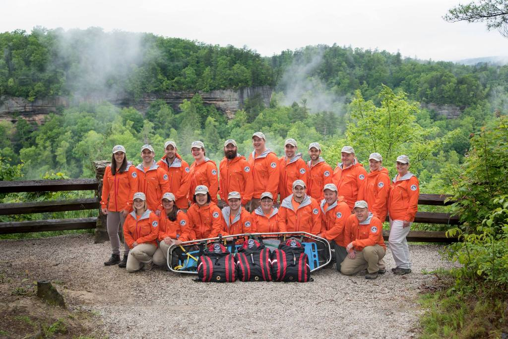 The Wolfe County Search and Rescue Team.