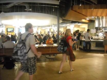 a popular dining area