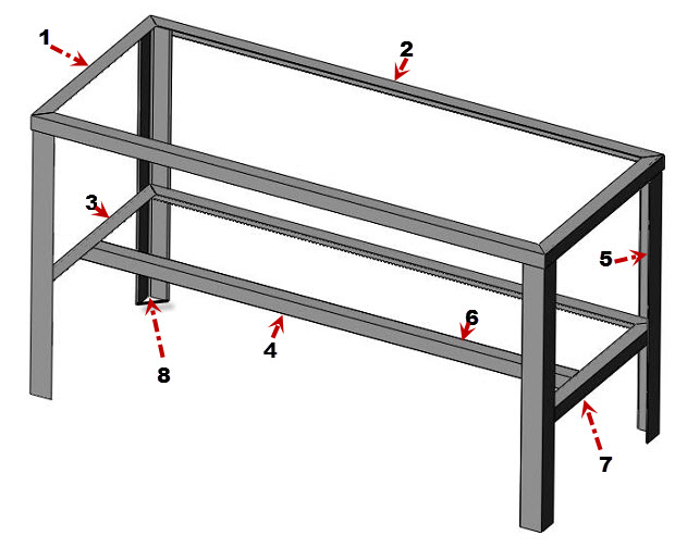 How To Build Metal Workshop Bench Plans Woodworking