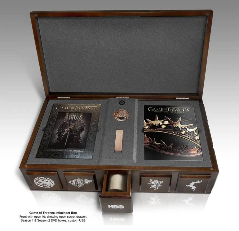 Game of Thrones Influencer Box
