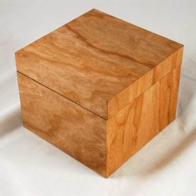 MinnMade Cherry Veneer composite box