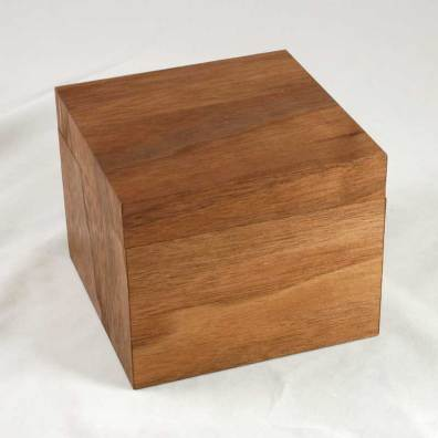 MinnMade Walnut Veneer composite box