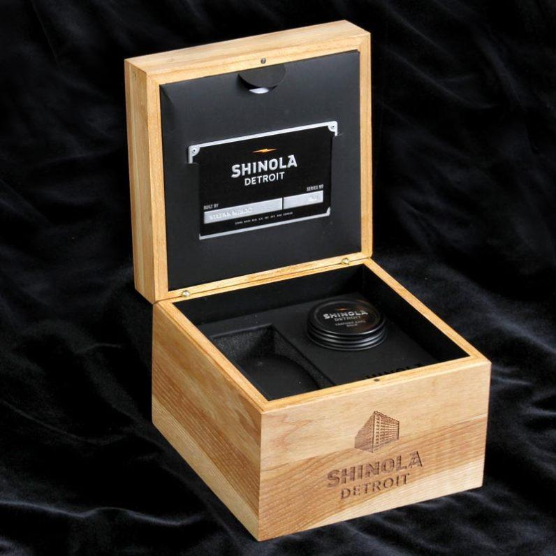 Shinola Watch Package
