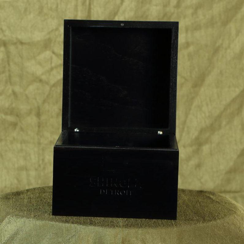 Shinola Watch Package - open