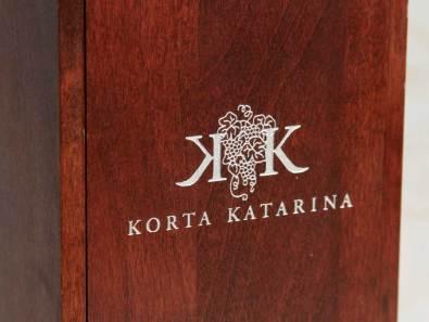 Wine package for Korta Katarina Wine, a Croatia Winery
