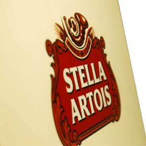 Stella Artois Logo on box