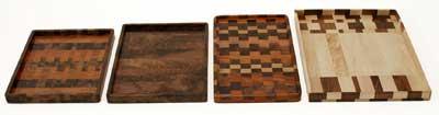 Checkerboard Trays