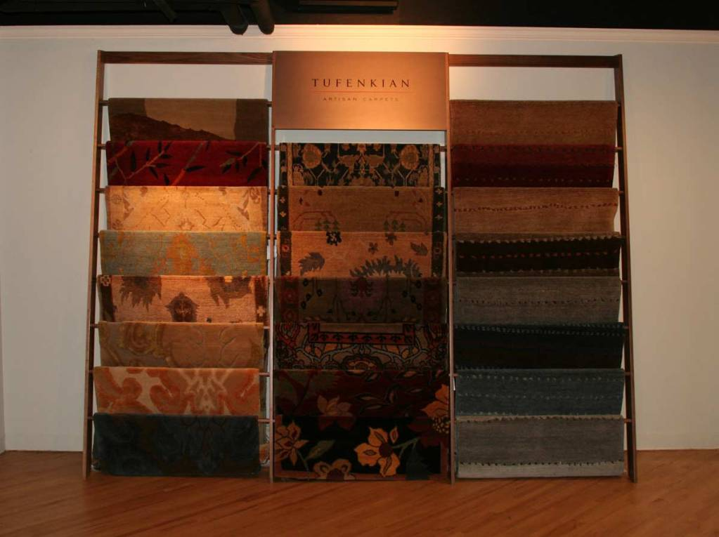 Display for Tufenkian Artisan Carpets