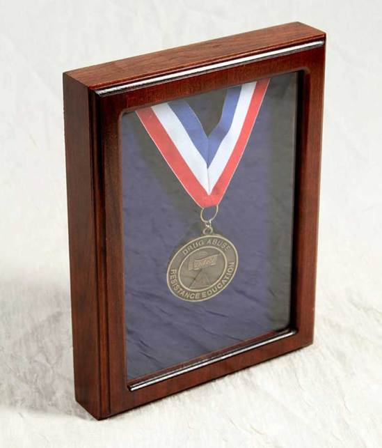 Shadowbox with Medal