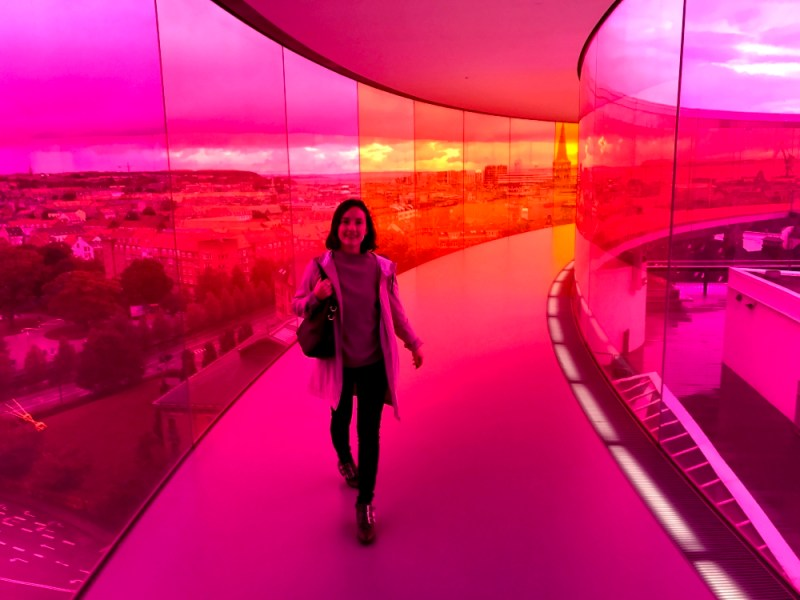 Aarhus ARoS Museum Your Rainbow Panorama Olafur Eliasson