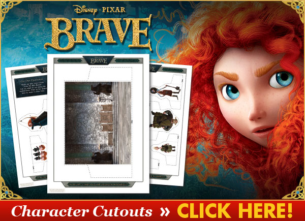 Download Character Cutouts from BRAVE!