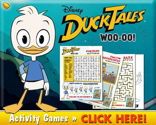Download DuckTales Woo-oo! Activities