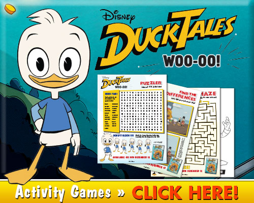 Download DuckTales Woo-oo! Activities