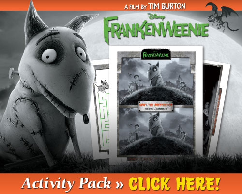 Download Frankenweenie Printables