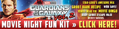 Download Guardians Of The Galaxy Movie Night Fun Kit