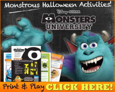 Download Monstrous Halloween Activities