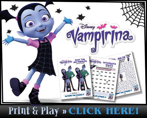 Download Vampirina's Print & Play Activity Pages