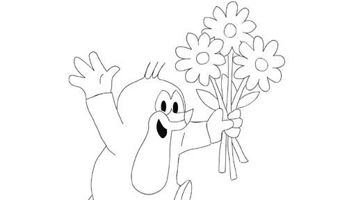 Maulwurf Mit Blumen Die Sendung Mit Der Maus WDR