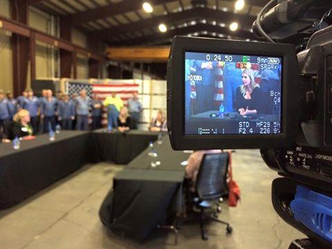 Ivanka Trump speaking at Middletown Tube Works. (WDTN Photo_Jordan Bowen)_196741