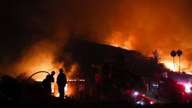 APTOPIX California Wildfires_284849