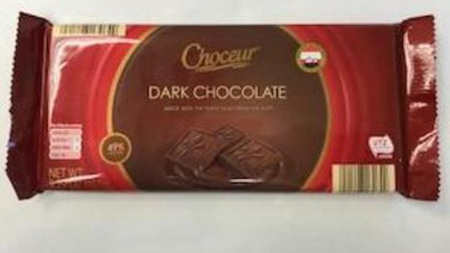Choceur chocolate recall_284251