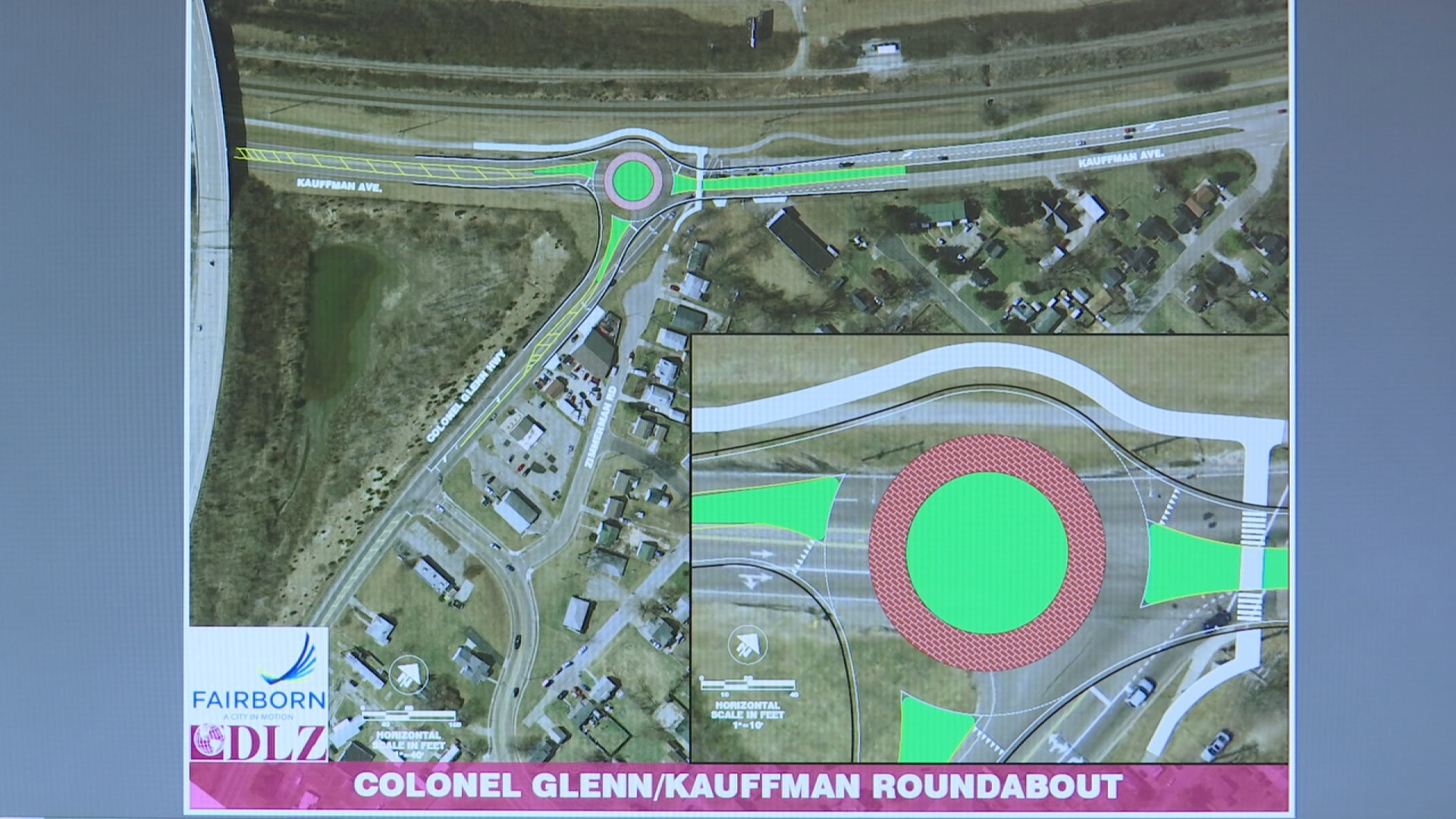 Fairborn roundabout project 1_290905
