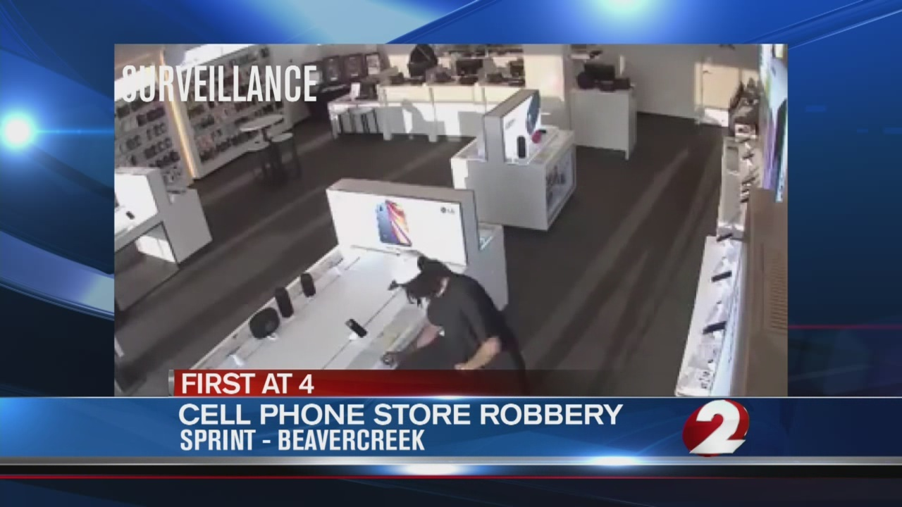 Beavercreek Sprint store robbed