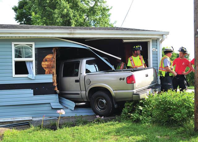 Truck into Home COURTESY MIKE ULLERY, PIQUA DAILY CALL_1533284319517.jpg.jpg
