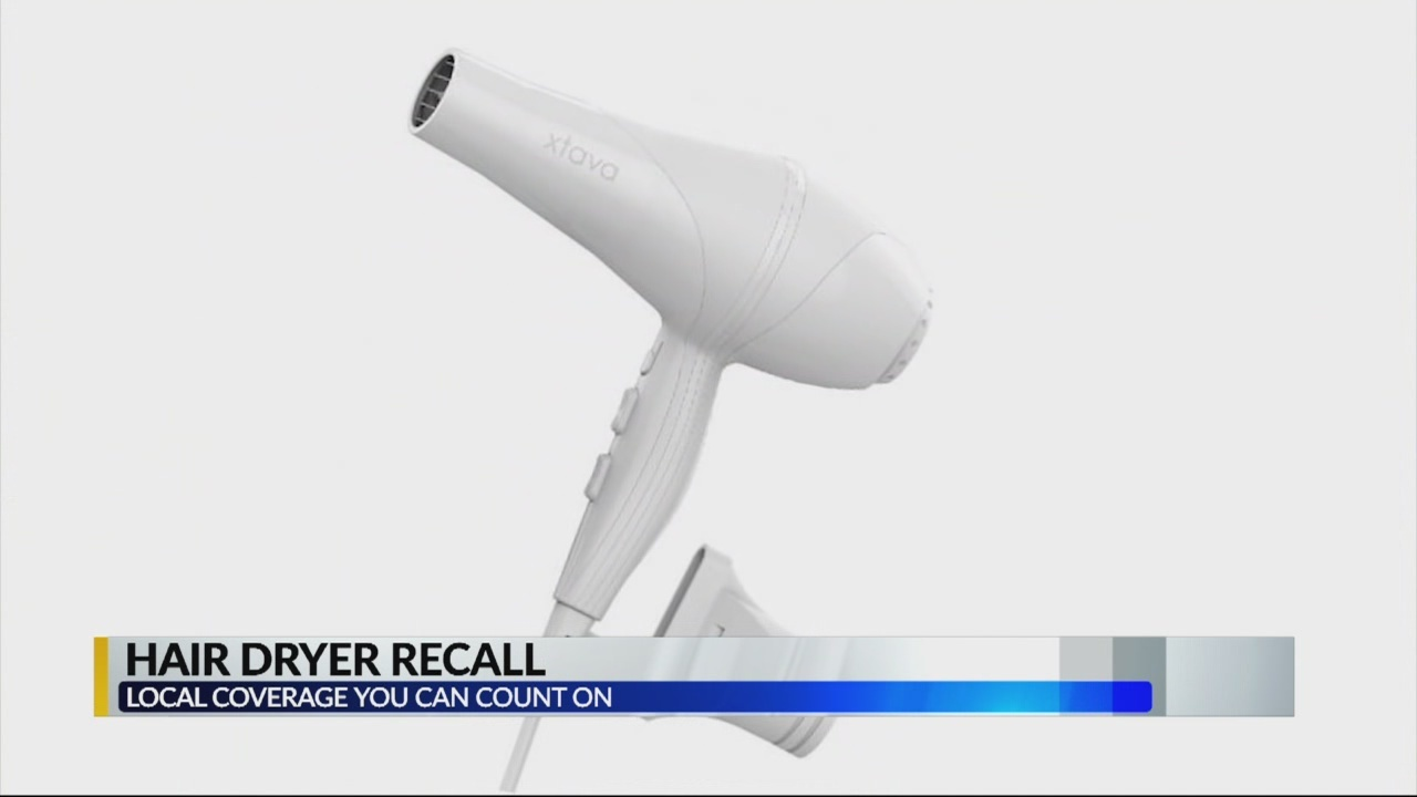 hair dryer recall