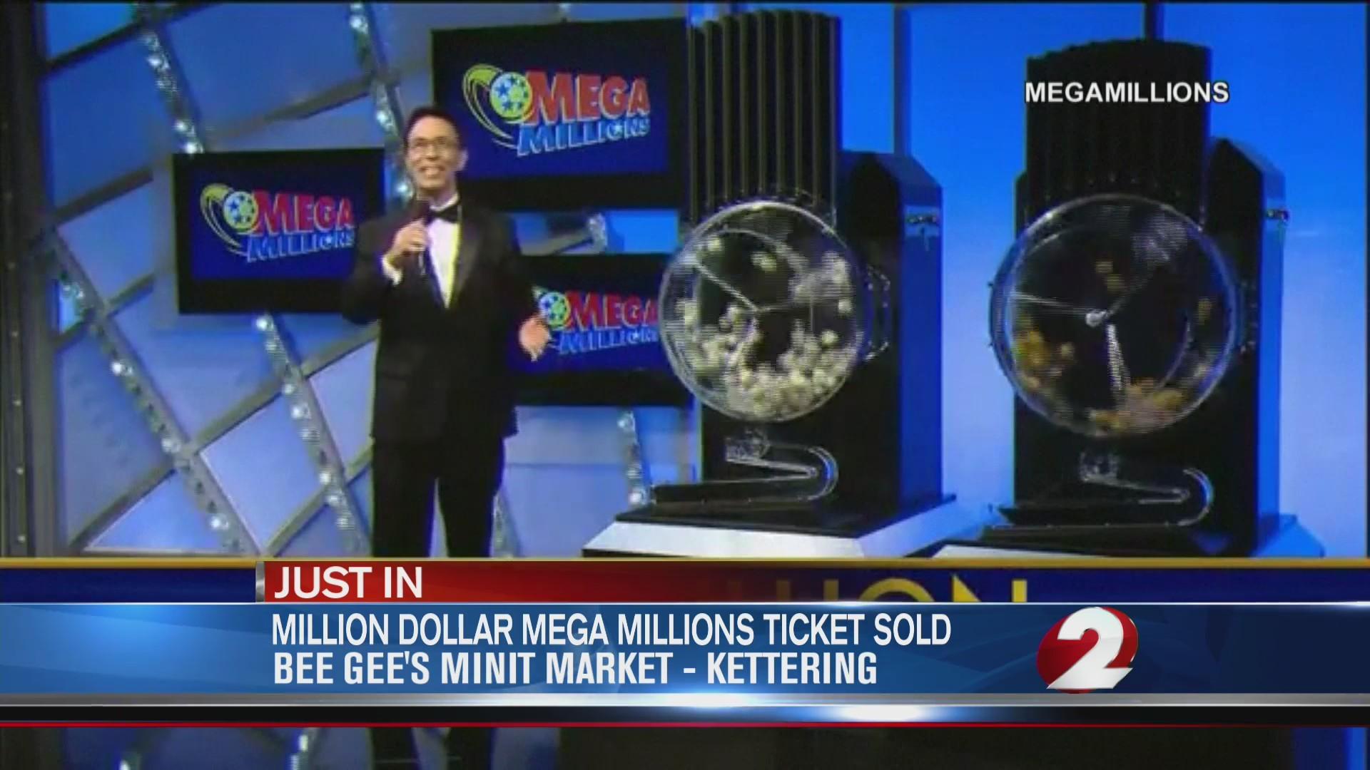 $1 million winning ticket sold in Kettering