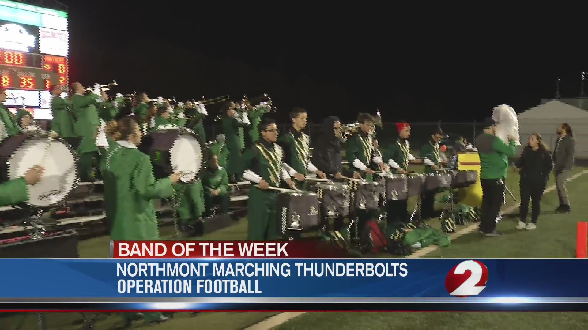 Operation Football Band of the Week 9: Northmont Marching Thunderbolts